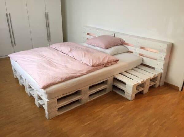giường ngủ pallet gỗ độc đáo